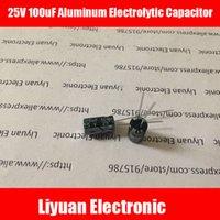 Wholesale V uF Aluminum Electrolytic Capacitor uf v MM Electrolytic Capacitor V UF