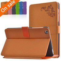 Wholesale Luxury Print Flower PU Leather Stand Case Cover For Lenovo A8 A5500 quot Tablet