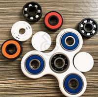 Wholesale HandSpinner Fingertips Spiral Fingers Decompression Anxiety Brass Toys Hand Spinner Stainless Steel Desk Focus Toy OOA1125