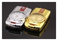 Wholesale lighters creative watches the lighter electronic watches windproof lighter straight lighter