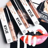 Wholesale KYLIE JENNER LIP KIT Kylie Matte Liquid Lipstick Lip Liner Kylie lip Velvetine in Red Velvet Makeup set lipstick lipliner