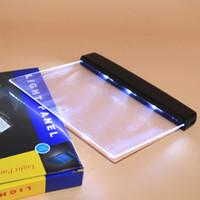 al por mayor reader book-Nueva luz de lectura de libro led Luz de visión nocturna mágica LED de lectura de libro Placa plana portátil de viaje de coche Panel Led Lámpara Book Reader