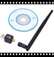 Wholesale Wireless WiFi Adapter dB wifi Antenna Mbps Lan Wireless Network Card WiFi b g n