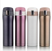 Wholesale Stainless Steel Water Bottle Insulated Vacuum Bottle High Luminance Water Bottle ml Creative Thermo VS Vaccum Cup