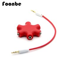 audio cable splitters - Colorful mm Headphone Earphone Audio Splitters Male to Female Audio Splitter Cable Accessory