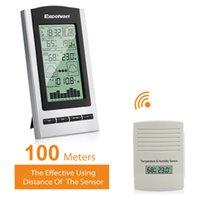 barometer sensor - Excelvan Wireless Digital Multifuction Weather Forecast with Temperature Dew Point Barometer Humidity Sensor Monitors