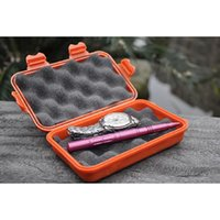 Wholesale Outdoor Waterproof And Shockproof Storage Box Sealed Container Box L Size Khaki Black Orange send Randomly A290