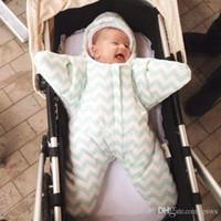 baby stroller cover - New Baby Blanket Envelopes Newborn Sleepsack Autumn Winter Baby Starfish Sleeping Bag Used on Strollers Bed Colors