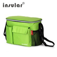 Wholesale Waterproof Thermal Insulation Mommy Bags Cool Multifunctional Baby Stroller Organizer Diaper Bags Hot Sales