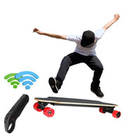 Wholesale Outdoor sport Electric Boosted Longboard Motorized Electric Skateboard with Wireless Remote