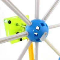 al por mayor modelo de experimento-DIY juguetes educativos creativos de la energía solar de la rueda de Ferris modelo de los niños de enseñanza de juguetes experimento científico conjunto Popular