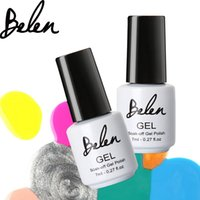 Wholesale Belen ml Gelpolish UV Gel Nail Polish Long Lasting Glaze LED Vernis Gel Lacquer Nail Art Builder Nail Polish LED