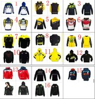 Breathable motorcycle shirt - Clour HOT Motorcycle Motocross casual hoodie for Rossi VR46 Large Factory Racing Team Moto GP sweatshirt Jackets