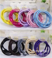 Wholesale Man jewelry Hu candy color seamless high elastic thick bead for children and adults in general