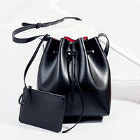 Shoulder Bags big leather hobo bags - Europe and the United States of the new autumn joker bucket bag gao microfiber and packs a one shoulder his big bag