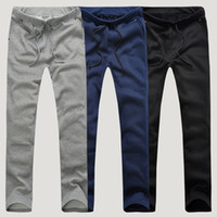 Wholesale Trendy Mens Casual Sportwear Harem Pants Slacks Trousers Sweatpants Spring Summer Workout Thin Man Pants Male Clothing