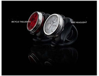 best rechargeable bicycle lights - Best price Bicycle Bike LED Modes Head Front Rear Tail Light Lamp USB Rechargeable