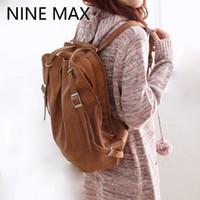 Wholesale- 2 FUNCTION Sacs sac à dos femme Casual PU blanc Sac à dos avec sac à bandoulière blanc-brun Khaki pour adolescentes filles FLM1207-D