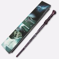 Wholesale 18 Styles Cosplay Marrychistmas Halloween Harry Potter magic of harry potter magical wand with a Gift Box about CM