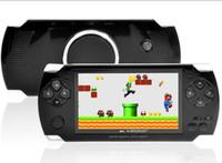 2017 Vente chaude 4Go 4,3 pouces PMP Handheld joueur de jeu s3000 MP4 MP5 joueur vidéo FM caméra Portable Game Console