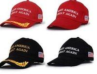 Wholesale Make America Great Again Donald Trump Hat Cap Republican hot fashion US Trump For President USA Hat cc707