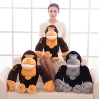 baby gorilla - Lovely King Kong Gorilla Orangutan Kids Toys plush toy Huge Stuffed Animal Baby Toy for Children Gifts