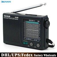 Wholesale Free DHL Fedex R Pocket Radio High Sensitivity Large Volume Portable Radio