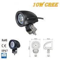 Wholesale 1 piece Automotive Motorcycle Bike V V inch W CREE Waterproof Led Work Light
