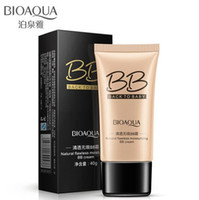 Wholesale BIOAQUA natural flawless pore cover moisturizing BB CC Creams whitening beauty face cosmetics foundation makeup base concealer