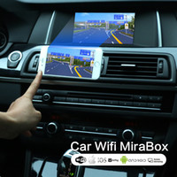 airplay de voiture achat en gros de-Universal Car Home Miracast Airplay Android IOS TV WiFi Mirror Link Adapter Écran Smartphone Vidio