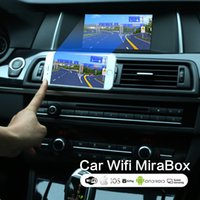 airplay del coche al por mayor-Universal Car Inicio Miracast Airplay Android IOS TV WiFi Espejo Enlace adaptador Smartphone Pantalla Vidio