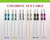 Wholesale Luxury mm AUX cable Audio connect smartphone on car speaker home enterainment pin high quaclity for all cell phone