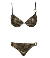 animal print foil - 2017 Leopard Swimsuits AAA Hot Winmax Swim Wear Newest Shiny Animal Print Gold Foil Push Up Style Sexy Women Mayo Bikini Biquinis Suits