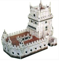 adult jigsaw puzzles - hot selling d difficult architecture Jigsaw puzzle model paper diy learning educational popular toys for boys child adult