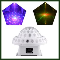beam equipment - Color Changing RGBW Sound Activated Led Laser Light Show Beam Effect LED Stage Lighting DJ Equipment for Night Club Light DJ Lights