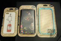 Wholesale clear cover color card retail package for inch cellphone case a DHL free