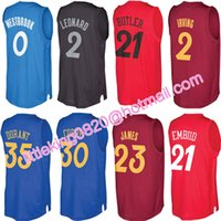 Wholesale 2016 Christmas Day Jersey joel embiid Kyrie Irving Kevin Durant Kawhi Leonard Jimmy Butler russell Westbrook Xmas Shirt