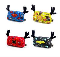 ask cars - Ask the lad a deer peace headrest car neck pillows car creative cartoon car pillow superhero