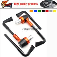 Wholesale Aluminum ABS Protector Handlebar quot mm Brake Clutch Levers Protect Guard fits for KTM DUKE
