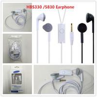 Wholesale 3 MM Headphone Headset Earphone For Samsung S5830 NEW OEM handfree headphone earphones For S7 Edge All Samsung YJ Earphone