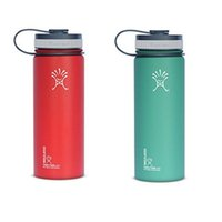Wholesale 2017 Hydro Flask Vacuum water bottle OZ Insulated Stainless Steel Water Bottle Wide Mouth big capacity travel water bottles