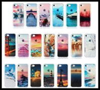 beautiful ocean scenery - Newest Fashion inch Ultra Thin Soft Silicone TPU Beautiful Mountain City Tower Ocean Scenery Phone Case for iPhone s Case