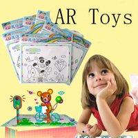 Wholesale AR toys painting naked eye D magic children s educational toys