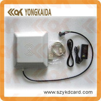 Wholesale long distancelector control acceso parking barrier gate system M Integrated UHF RFID Reader