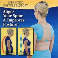 Wholesale Fedex DHL Free Royal Posture Energizing Body Posture Support Brace Align Spine Your Spine For Men Women Royal Posture Back Support Z659
