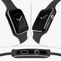 2016 Nouveau Bluetooth Smart Watch X6 montre Smartwatch sport pour iPhone Android téléphone avec caméra FM Support carte SIM montre-bracelet PK DZ09 GT08 U8
