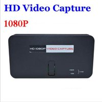 Wholesale HD Video Capture EZCAP P Game Capture HDMI YPbPr Recorder Box into USB Disk SD Card for XBox for PS3 Game Console