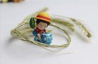 Wholesale Hot sale Cute Mini One Piece PVC Action Figure PVC brinquedos Collection Figures toys