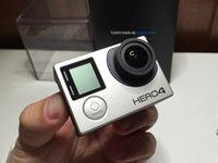 Revisiones Gopro hero4 negro-HERO4 Black Deportes Cámara y Accesorios para gopro hero4 negro Tripod adaptador para GP Bundle WiFi acción HD cámara Hero4 estilo coche dvr 6pcs