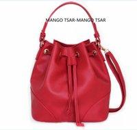 Wholesale brand leather handbags crossbody fashion simple casual women ladies clutch bags bucket bag DHL